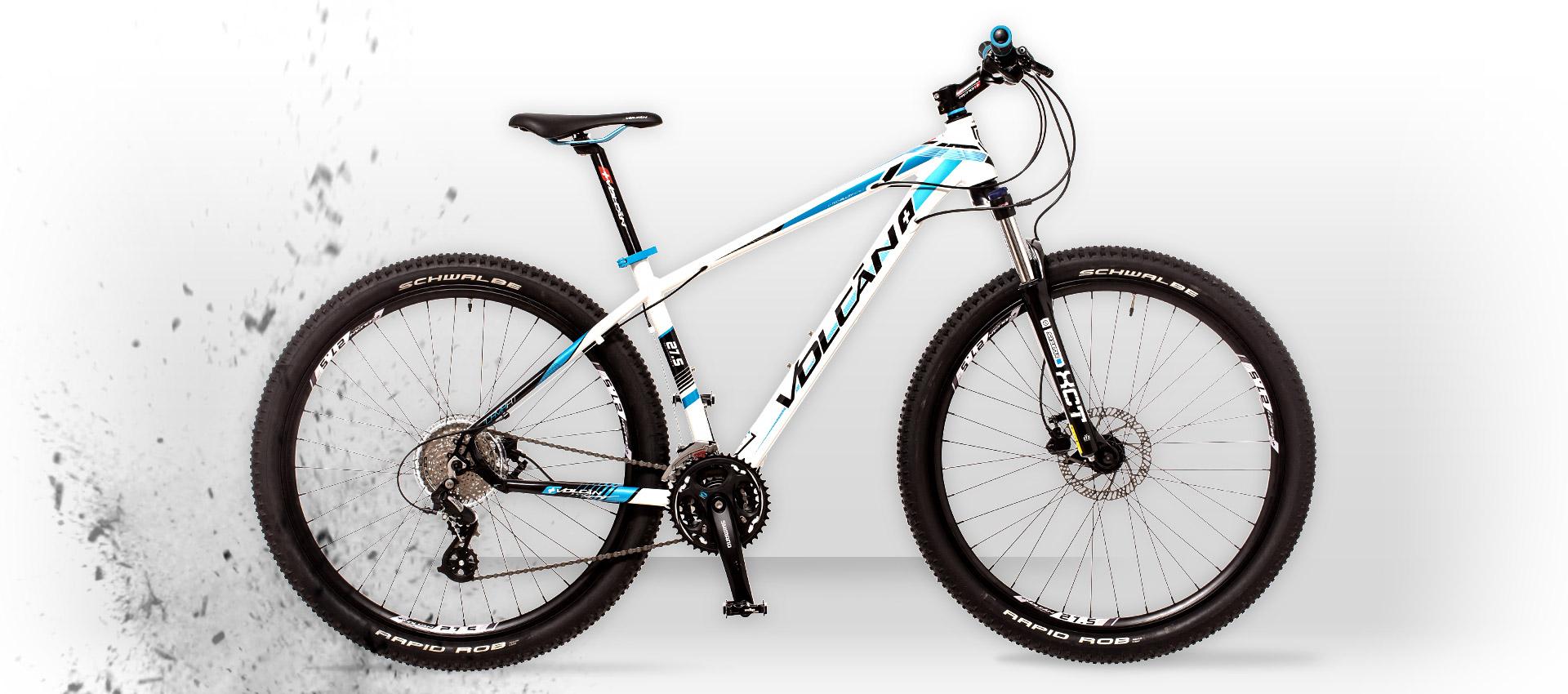 Volcan Mountain Bikes - LAVA HT
