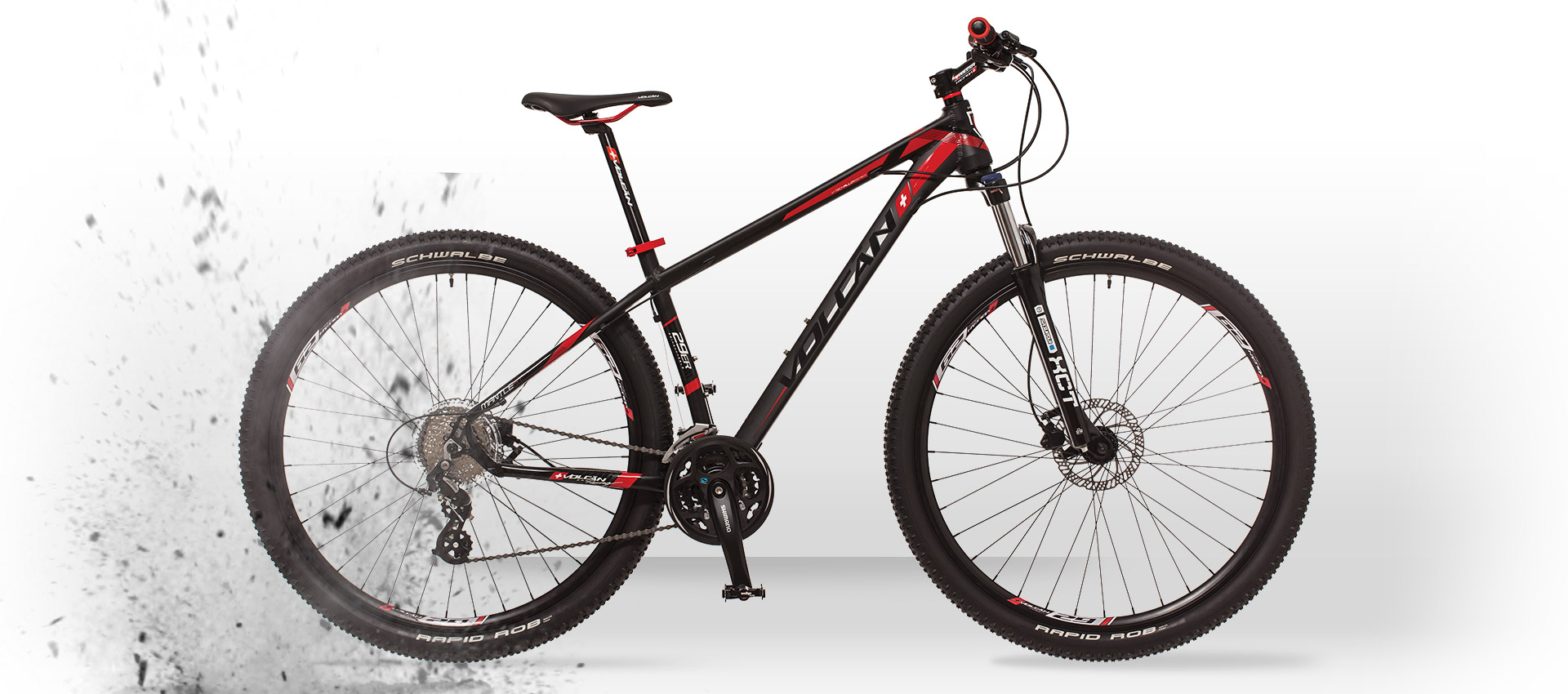 Volcan Mountain Bikes - MANTLE HT