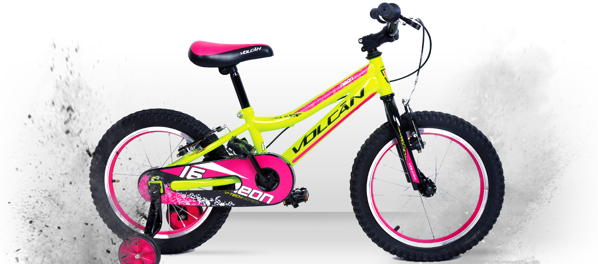 Volcan Mountain Bikes - Neon Girls 16