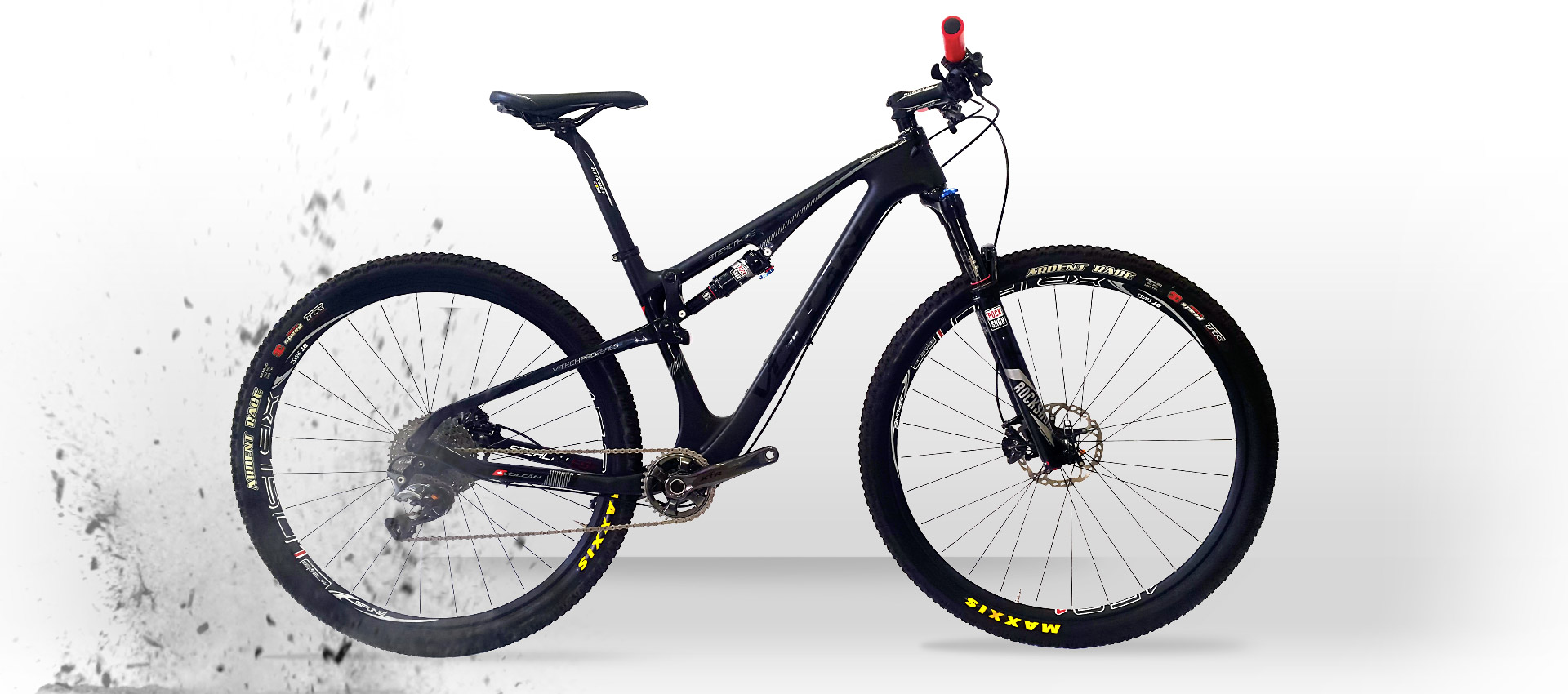 Volcan Mountain Bikes - Stealth FS XT