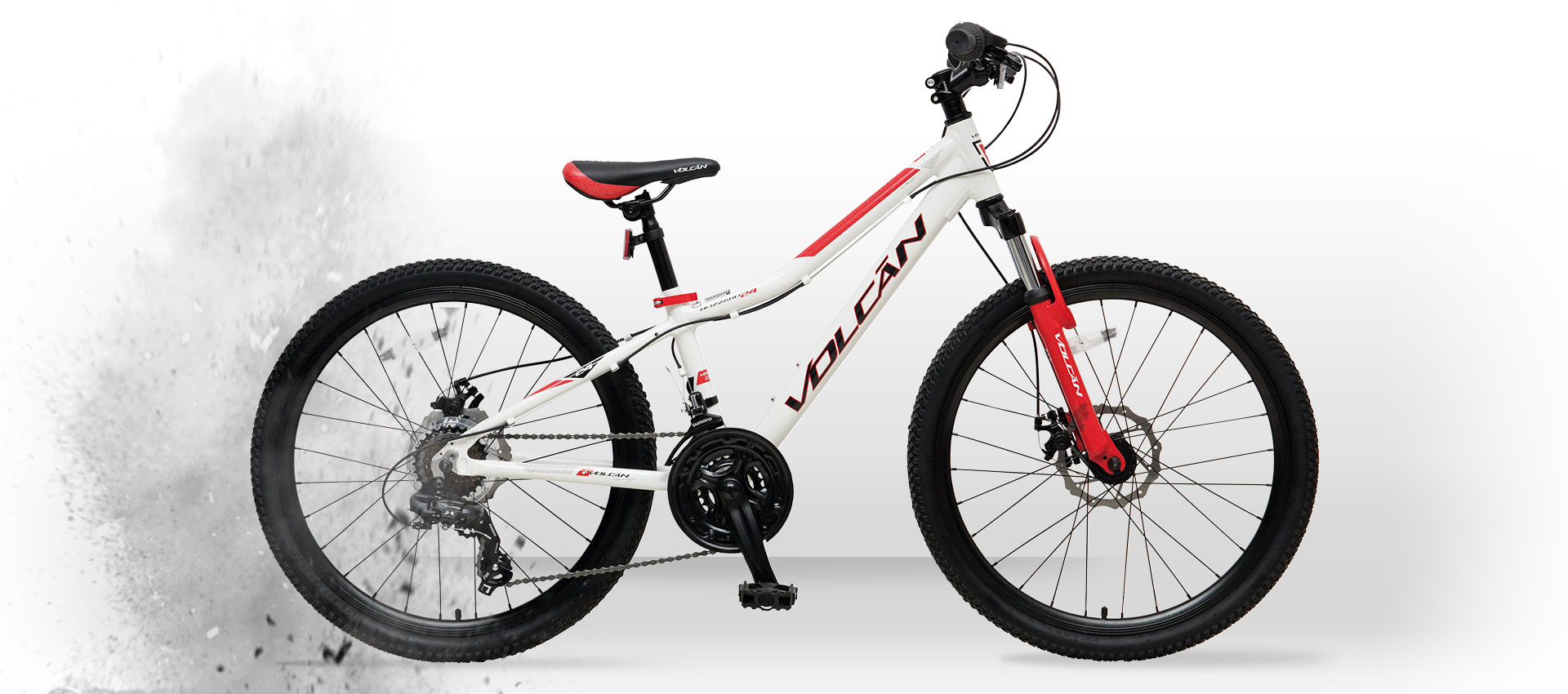 Volcan Mountain Bikes - Blizzard 24